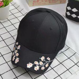 Flower Embroidery Baseball Cap